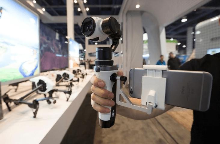 DJI Inspire 1 camera and gimbal