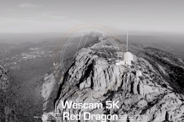 First test Wescam 4K & 5K Red Epic Dragon