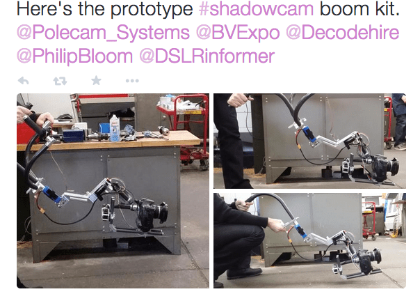 Prototype Shadowcam Boom Kit