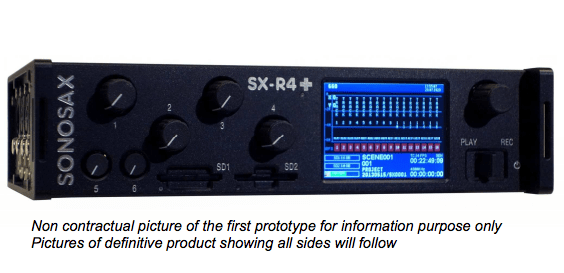 Sonosax Sx R4 Up To 16 Tracks Portable Audio Recorder