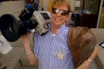 The Aussie News Cameraman
