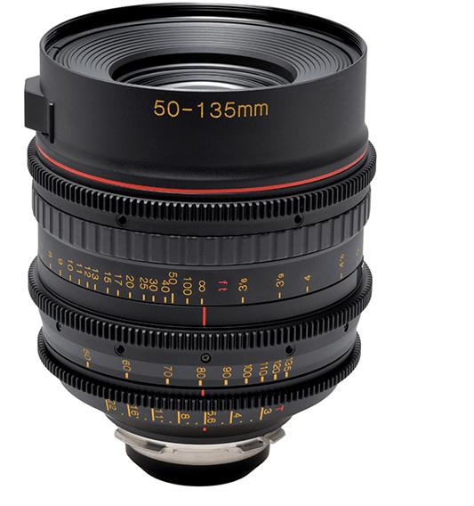 Tokina 50-135mm T3 Telephoto Zoom Lens