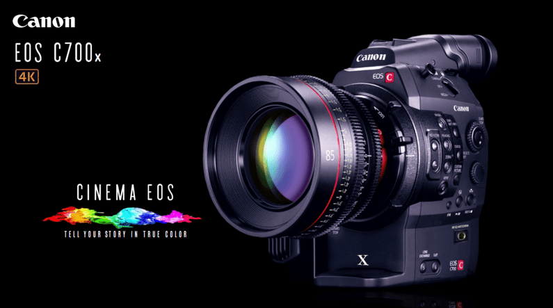 Canon C700x 4k Camera System With A New Cmos Super 35