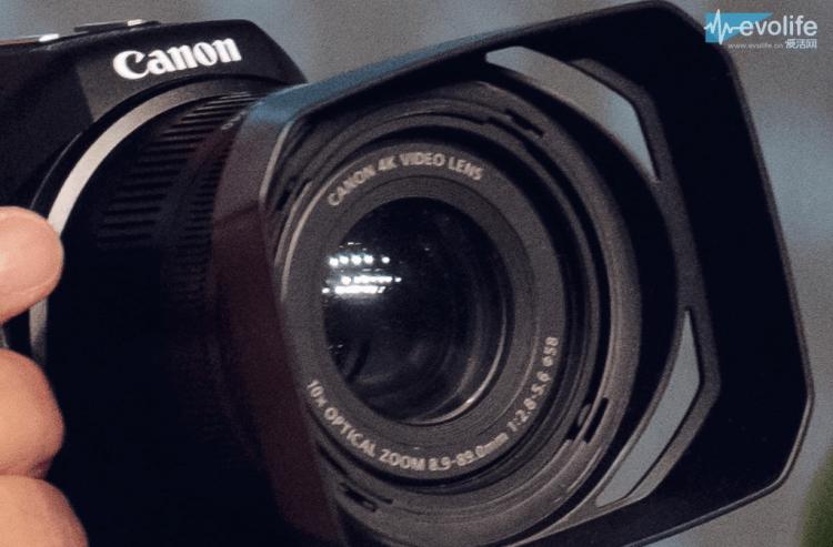 Canon Concept 4K camera 4K lens