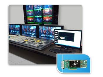 China Digital Video Builds New 4K Graphics Production Systems on Matrox X.mio3 SDI Video Cards