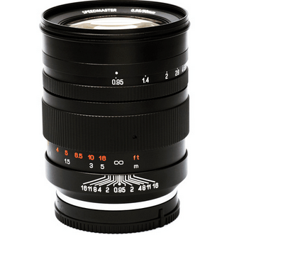 Mitakon 50mm f:0.95 SpeedMaster Lens for Sony E Mount