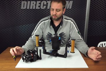 Letus Helix Jr. – Balancing a SONY a7S Camera With Offset & Mounting a Small Monitor