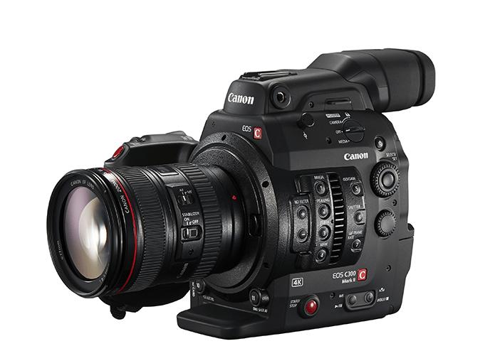 Canon C300 MKII 4K Recording