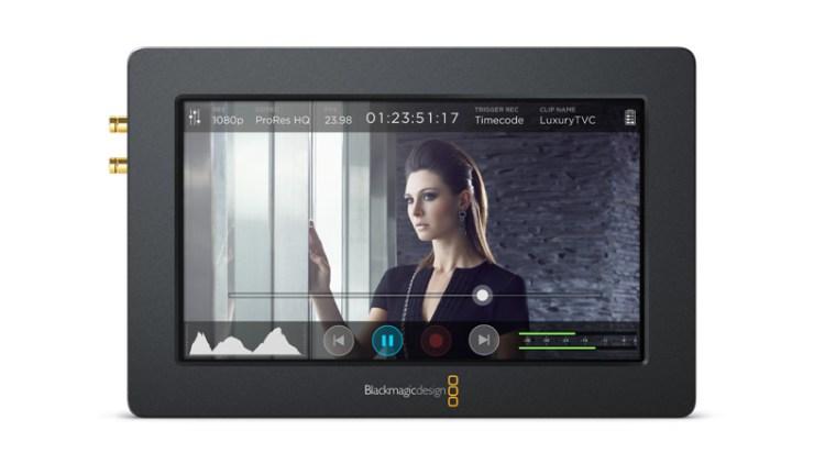 blackmagic video assist front