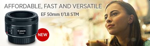Canon EF 50mm f:1.8mm STM
