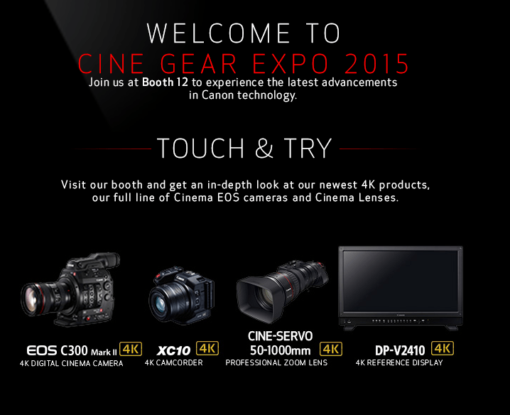 Sony Cine Gear Expo