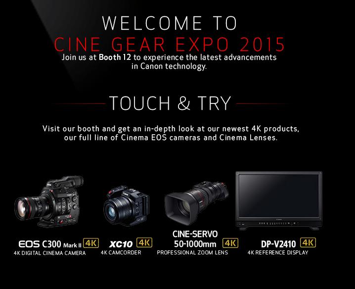 Sony Cine Gear Expo