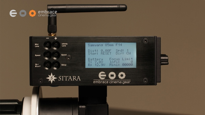 Sitara Wireless Remote Follow Focus LCD