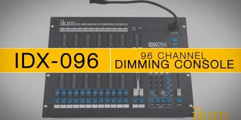 Ikan IDX-096 96 Channel DMX Console