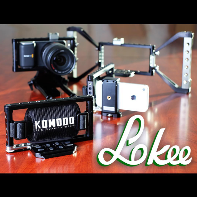 Lokee Camera Grip and Cage