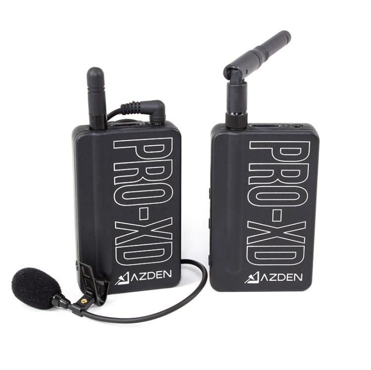 azden pro xd digital wireless microphone system overview