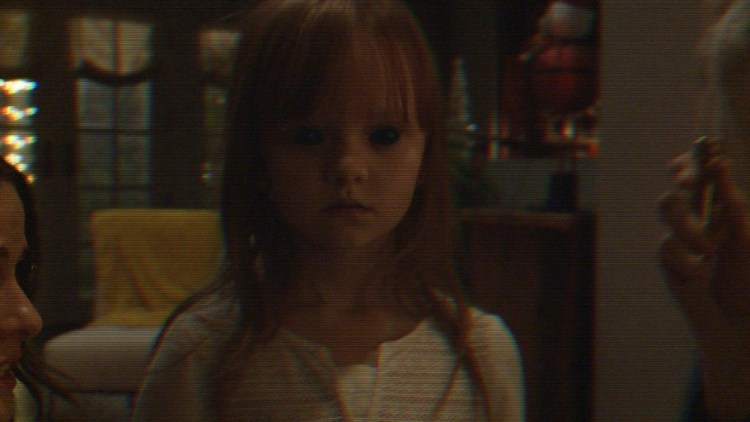 Ivy George plays Leila in Paranormal Activity: The Ghost Dimension from Paramount Pictures.Photo credit: Paramount Pictures © 2015 Paramount Pictures. All Rights Reserved.