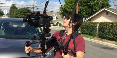 Atlas Camera Support + GH4 + Ronin-M + Turbo Ace Jockey 4-axis Gimbal