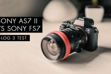 Sony A7SII vs Sony FS7 Camera Slog3 S-Gamut3 Cine Test from Creative