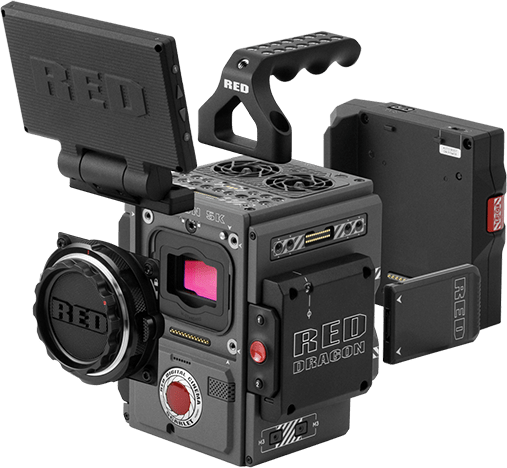 RED Scarlet-W Camera Fully