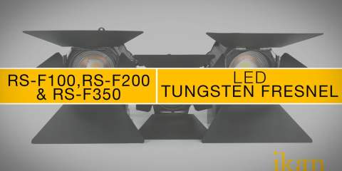 ikan Red Star Tungsten RS-F100 & RS-F200 & RS-F350 LED Lights