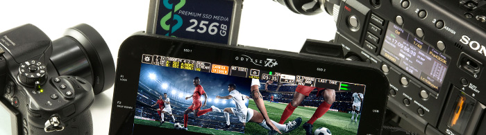 Dual-4K, Quad-1080p60, 4K60p and 6G-SDI Support for Apollo & Odyssey7Q+
