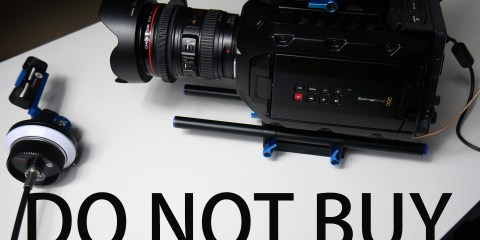 There Are 12 Reasons To Not Buy The Blackmagic Design URSA Mini 4K Says Sunnyspeed Studio
