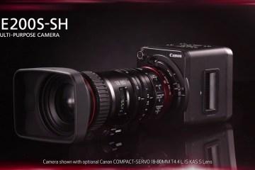 The Canon Multi-Purpose Camera ME200S-SH in Action