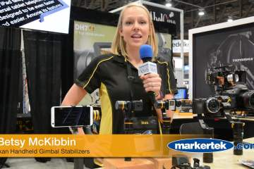 A Look at Ikan Handheld Gimbal Stabilizers from Markertek at NAB 2016