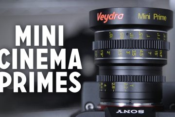 A Look At The Veydra 24mm, 35mm, and 50mm E Mount Lenses