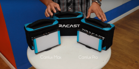Dracast Camlux Max Pro on camera light