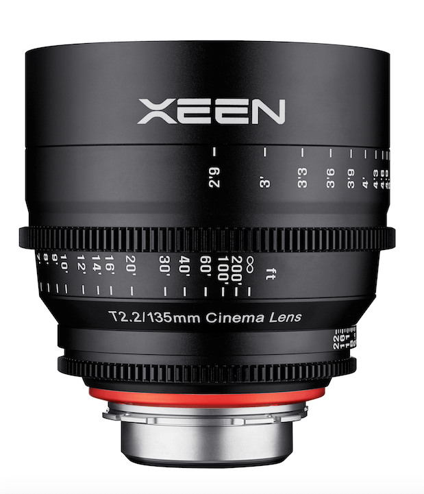 XEEN by Rokinon 135mm T2.2 Lens