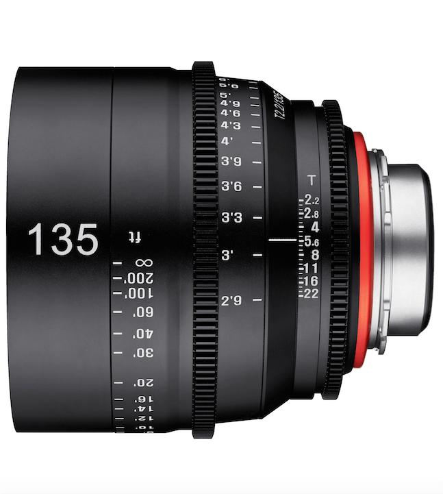 XEEN by Rokinon 135mm T2.2
