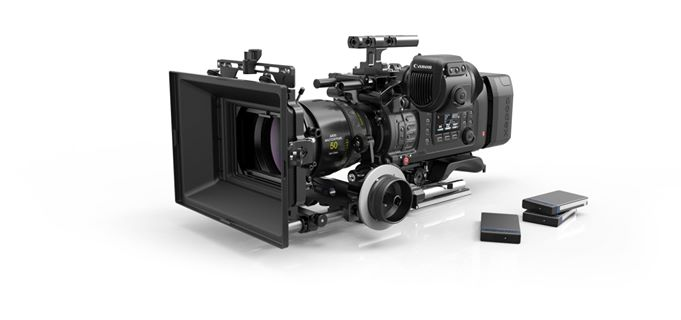 ARRI Accessories on Canon C700