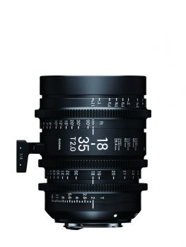 Sigma 18-35mm Cine Lens