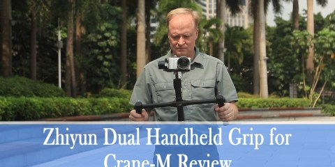 A Look at the Zhiyun Dual Handheld Grip for Crane-M