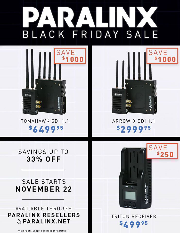 paralinx-black-friday-sale
