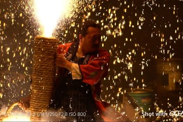 """A Look At Sony α6500 Camera 5x Slow Motion """"Tezutsu Fireworks"""""""