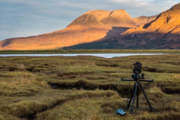 A Look at the ShooTools AutoPan in Action in Chilly Scotland