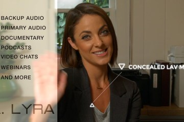 Aputure Introduces The A. Lyra Digital Lav System