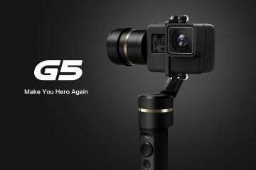 G5 Splash-proof HERO5 Gimbal from Feiyu Tech