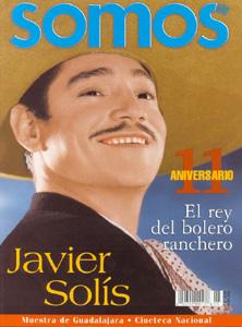 Javier Solís en la revista SOMOS