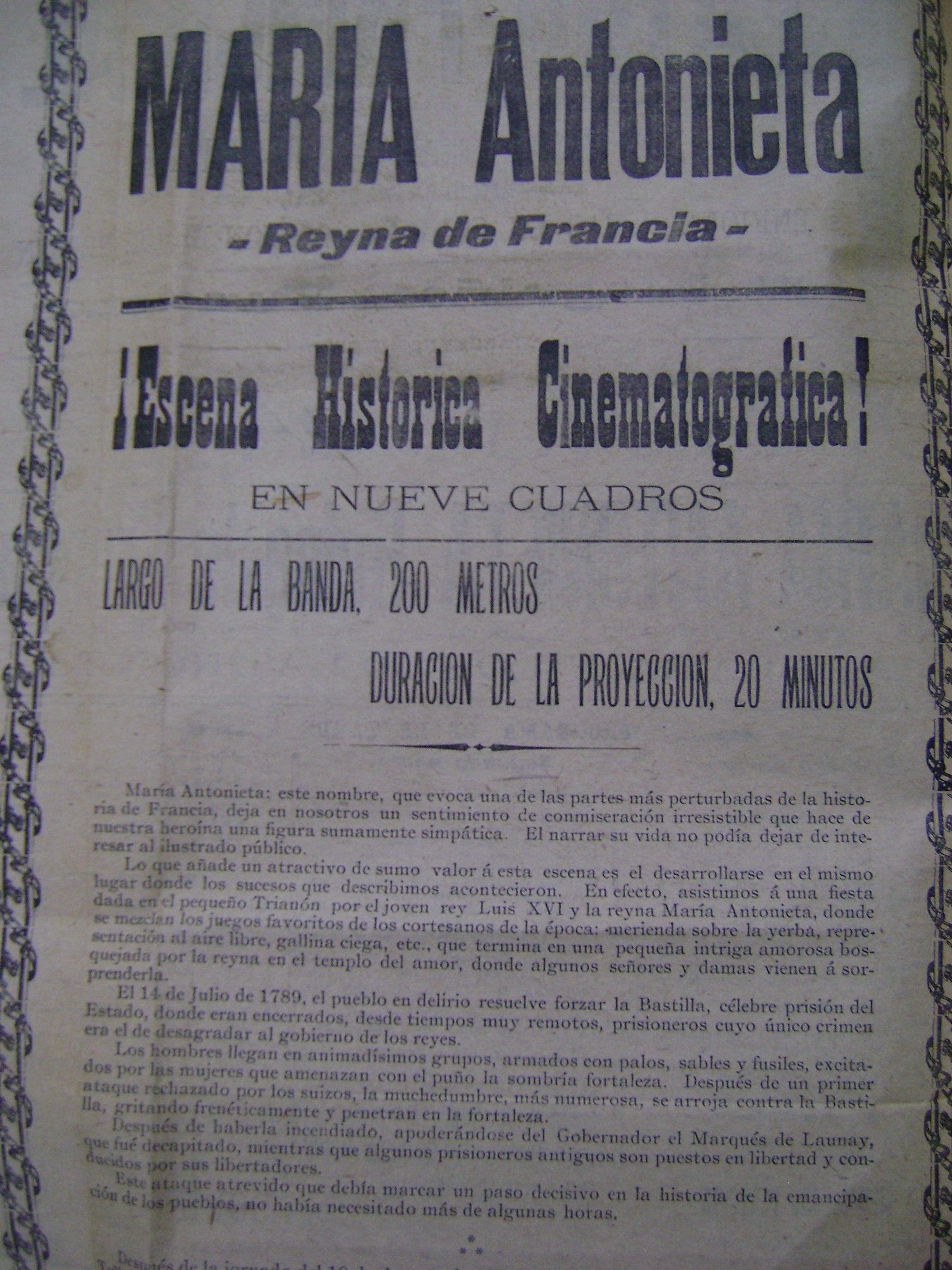 Reverso del cartes del 24 de julio de 1904