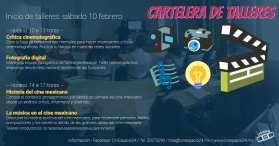 Talleres de febrero 2018 - CinEspacio24