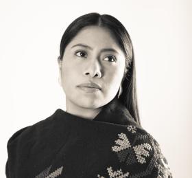 """Yalitza Aparicio vocera de la campaña """"Cero Violencia contra la Mujer"""", del GIFF"""
