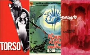 Cinco películas para disfrutar el giallo italiano, primera parte