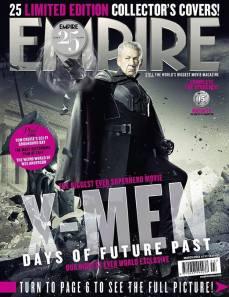 Ian McKellen como Magneto del futuro.