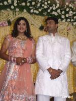 Meena Reception Photos
