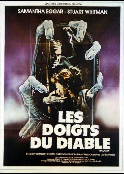 La Marque Du Diable Film : marque, diable, Affiche, DOIGTS, DIABLE, (LES), Alfredo, Zacarias, CINESUD, Affiches, Cinma