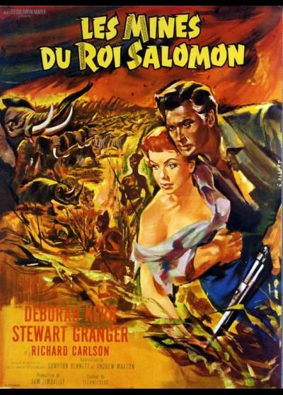Les Mines Du Roi Salomon : mines, salomon, Poster, Solomon, Mines, (les), 60x80